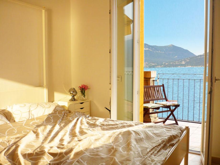 das Schlafzimmer zur Seeseite
