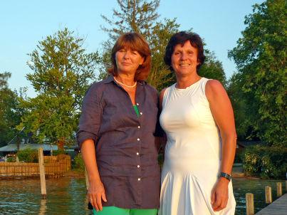 Ihr Gastgeber Ulrike Uhlmann u. Maria Albers / LA BREVA