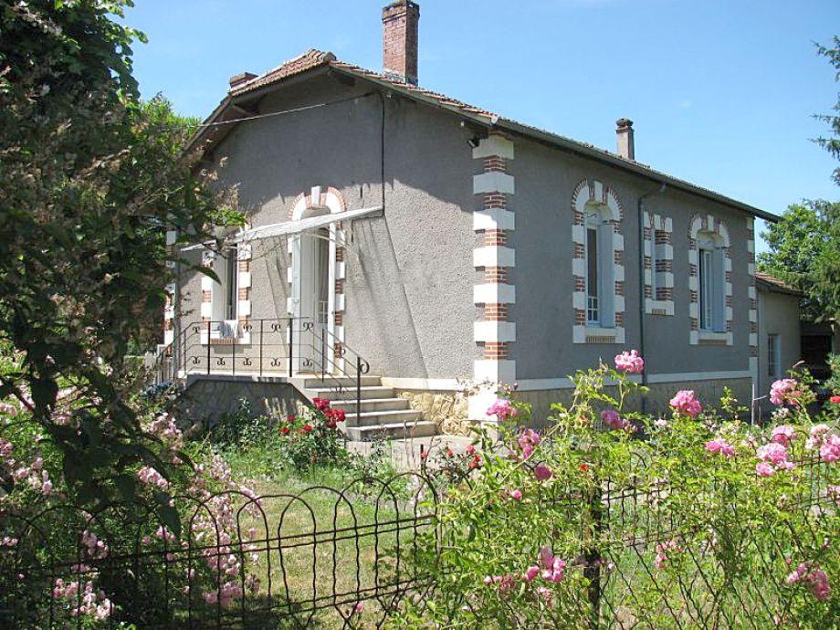 Der Garten des Ferienhauses