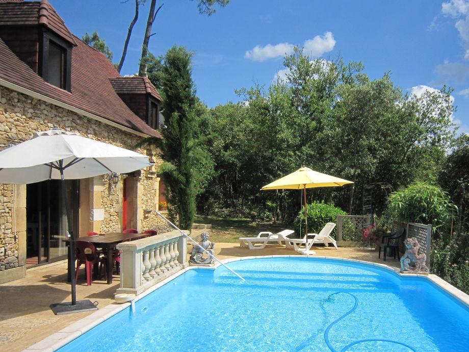 Das  Ferienhaus Coté Sud mit tollem Pool