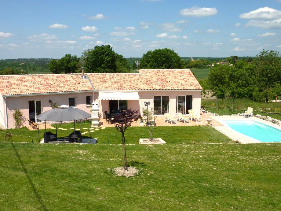 Die wunderbare Villa Tourtou mit Pool und Terrasse