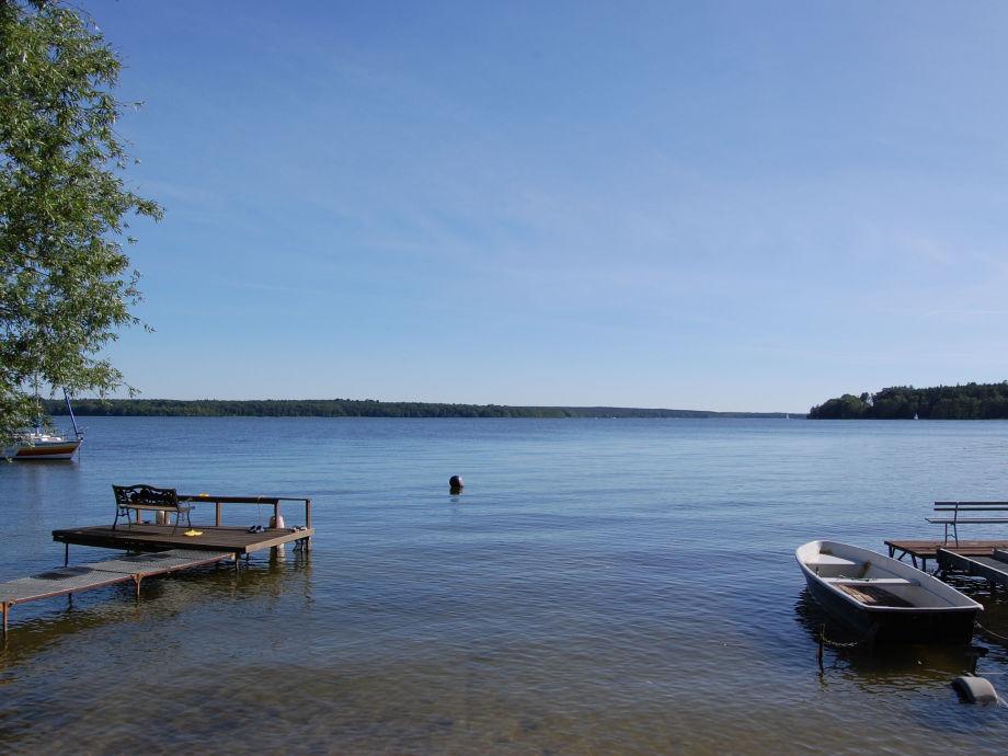 Der wunderschöne Plauer See.
