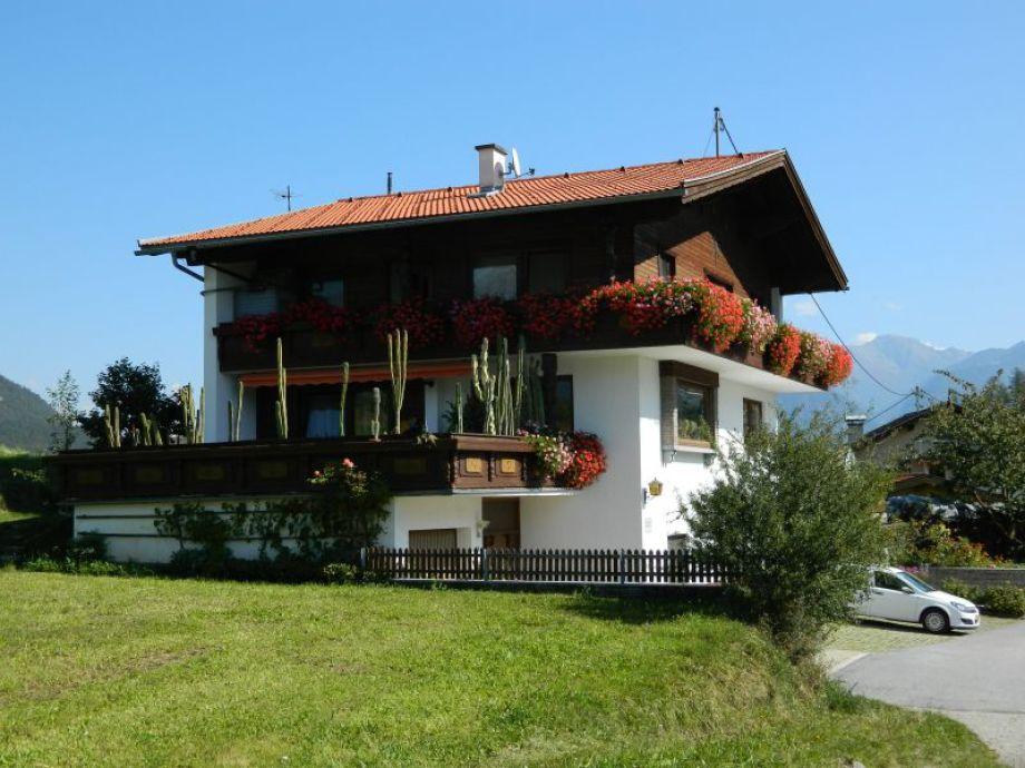 Blick auf das Ferienhaus
