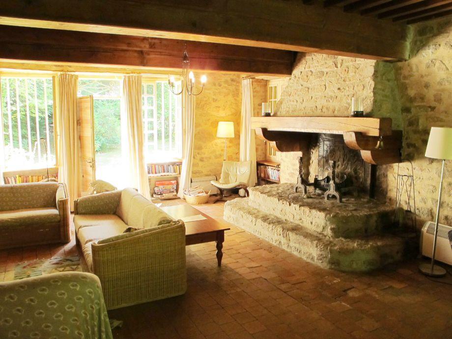 Kamin Im Wohnzimmer Kosten : Ferienhaus Les Ventes Guinguettes ...