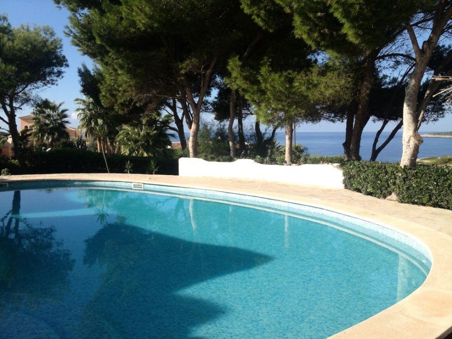 Außenaufnahme Gigantische Villa 100m Meer & Panorama-Meerblick, bis 10 P.