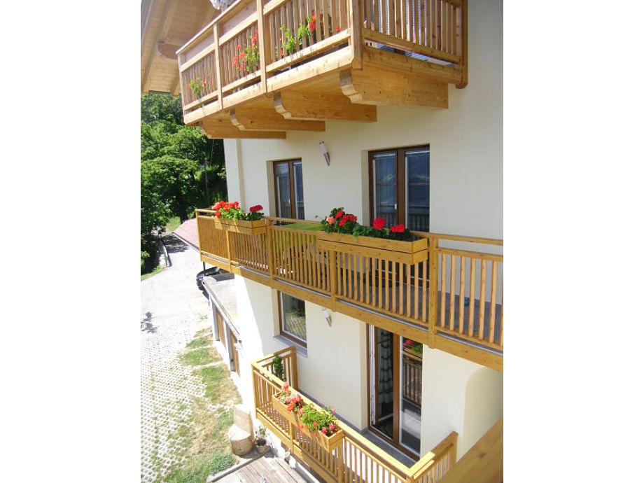Ansicht unseres Hauses...Wohnung mit Südbalkon