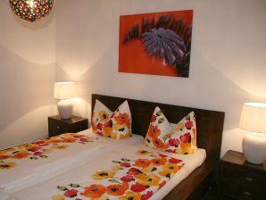 Top-Ferienwohnung mit 2 Schlafzimmern am Sonnenhügel