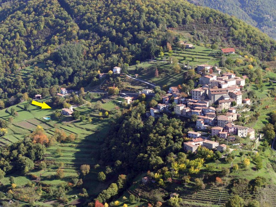 Außenaufnahme La Locanda del Moro