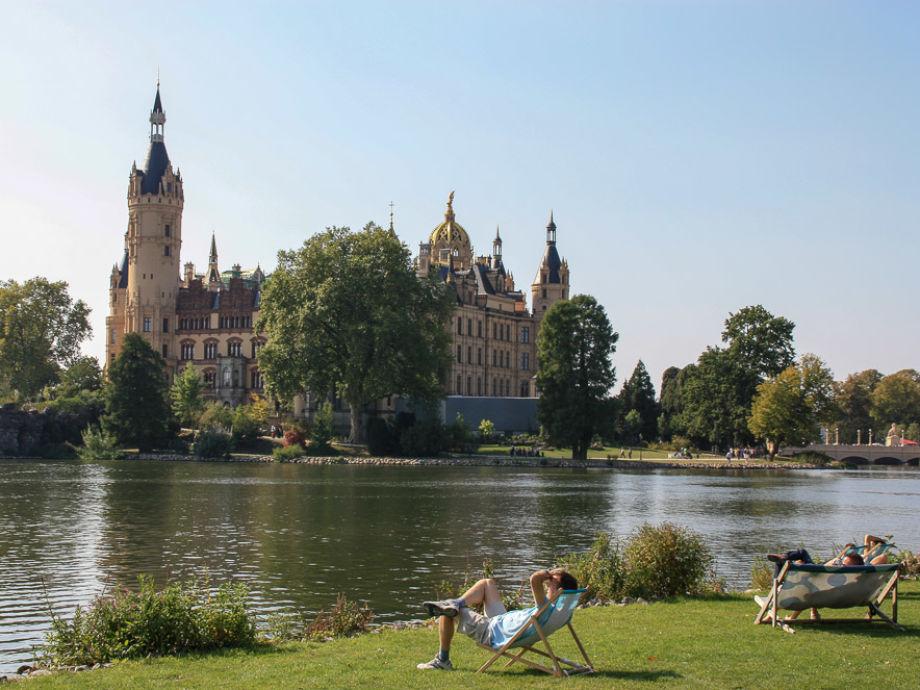 Ferienwohnung Haus am See Schwerin Mecklenburg Vorpommern
