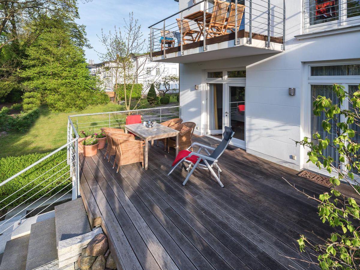 Ferienwohnung Pulitz Villa Ravensberg Binz Firma Baltische