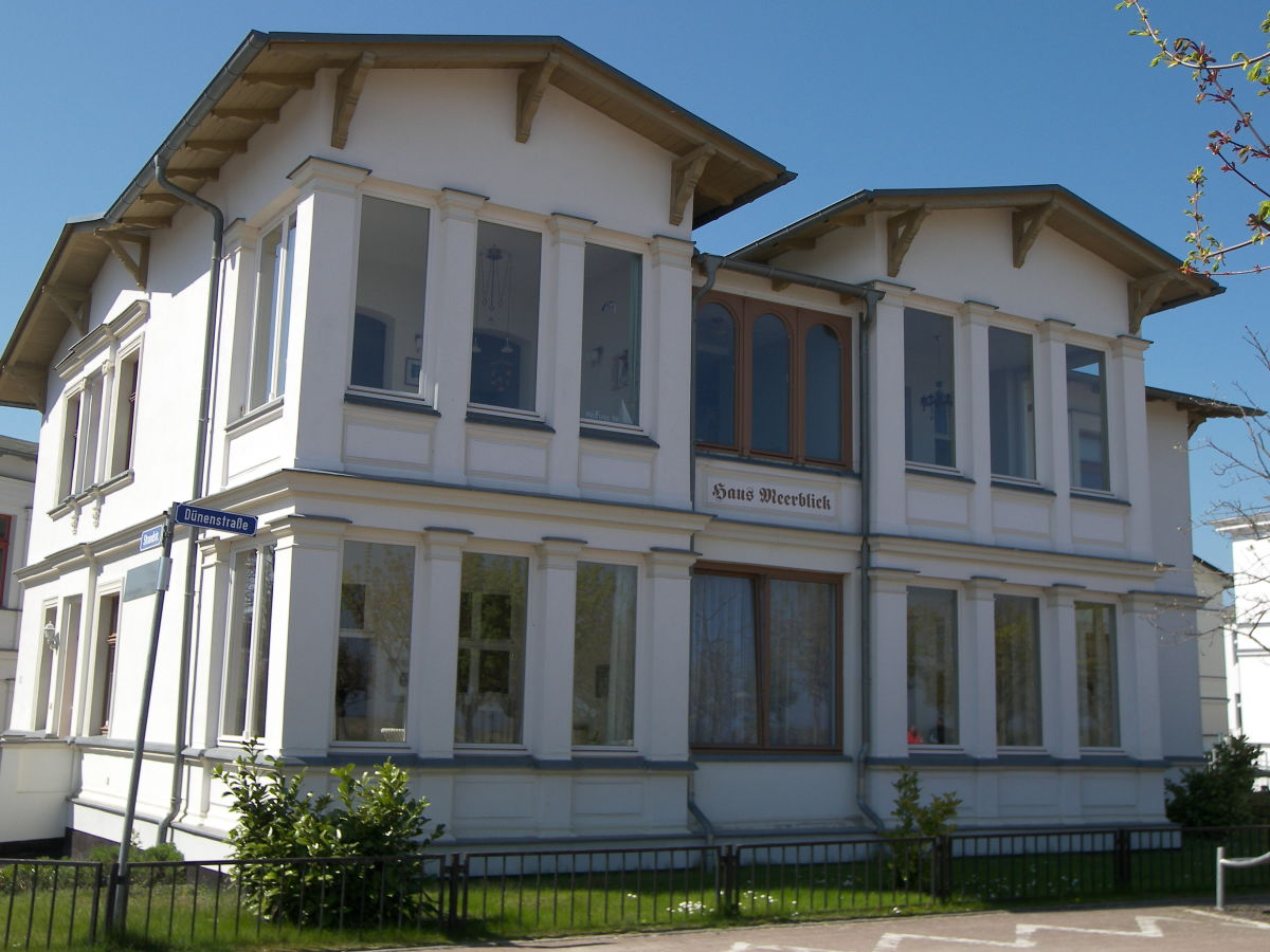Ferienwohnung Haus Meerblick Ahlbeck Usedom Herr