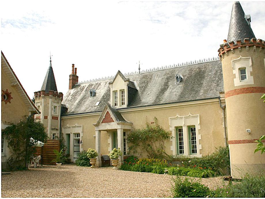Das Ferienhaus auf dem Landgut De la Roche