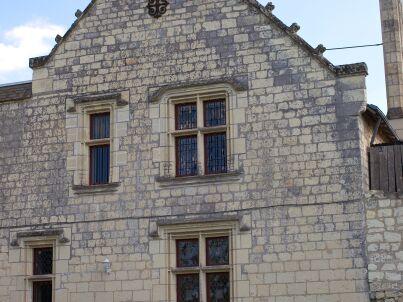 im Schloss Chinon