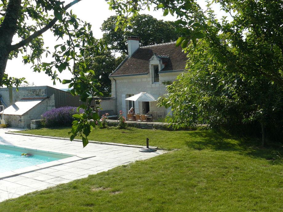 Landhaus Les Roses mit Pool