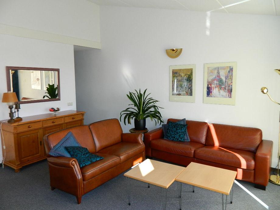 Couchgarnitur im Wohnbereich