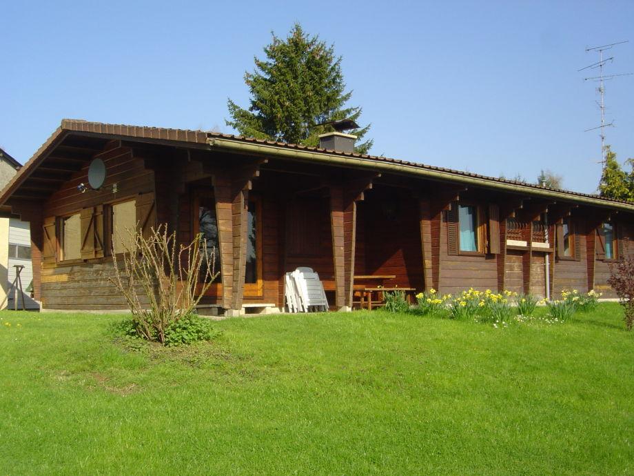 Das Ferienhaus aus Holz