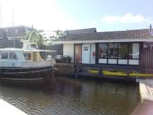 Ferienhaus am Wasser in Stavoren.