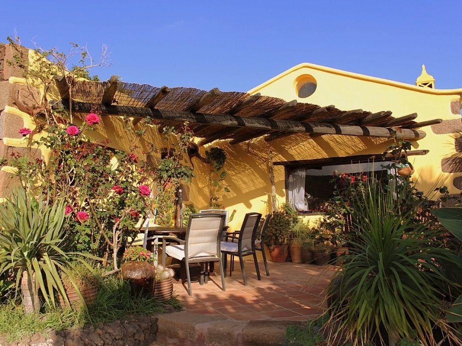 Eingangsbereich mit Terrasse - Casa Feliz