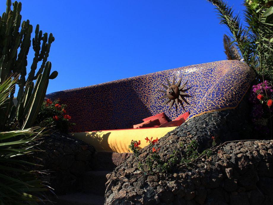 Sonnenbett der Casa Feliz