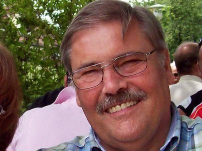 Your host Hans Kuhlmann