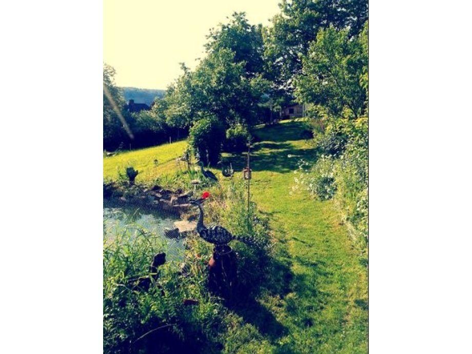 Das Herzstück der Wohnung: Unser Garten