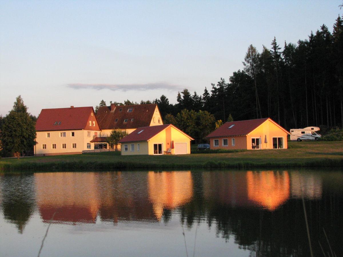 Ferienhaus karpfenhaus hofweiher bayern franken familie for Ferienhaus am see