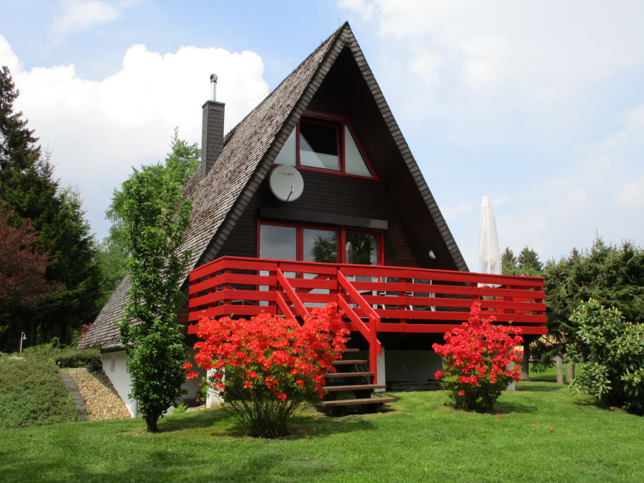 """Ferienhaus """"Zum Vennbiber"""" (Gartenseite)"""