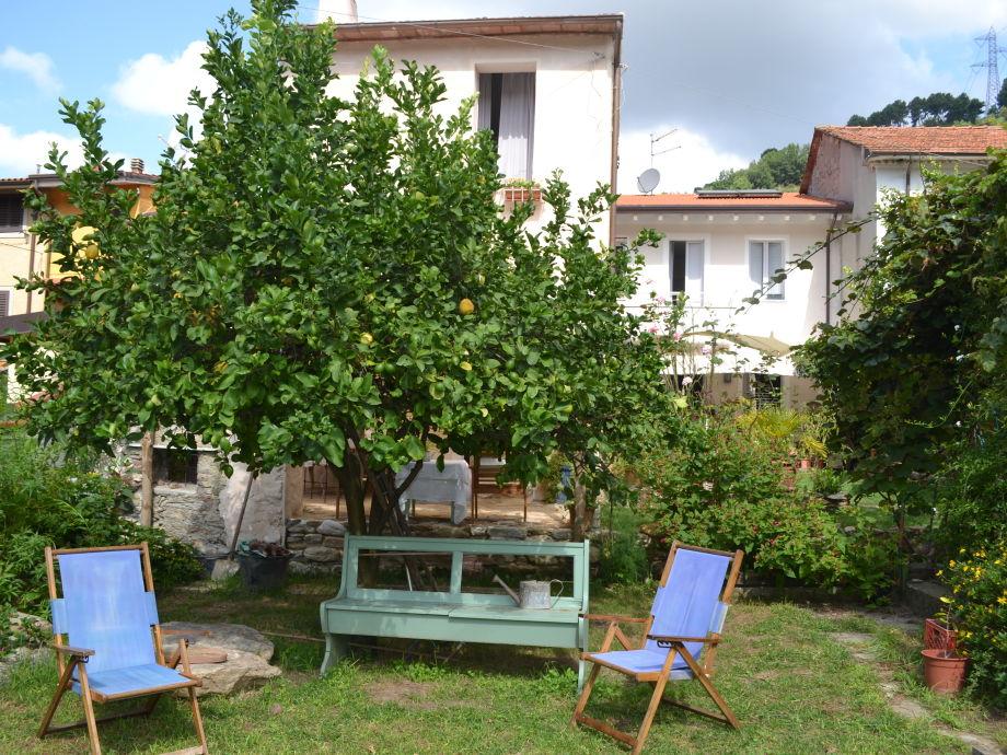 La Casina dei Limoni mit hübschem Garten
