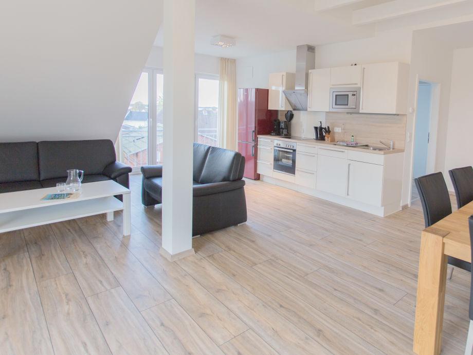 Moderne wohnzimmer mit küche moderne wohnzimmer mit offener küche
