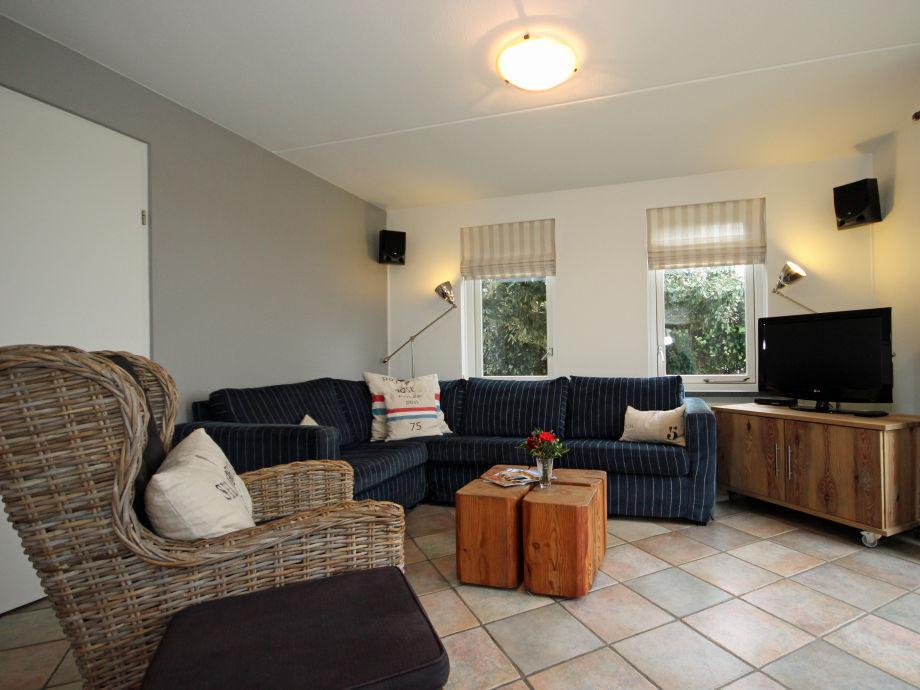 Wohnzimmer Villa Waddenstaete Texel