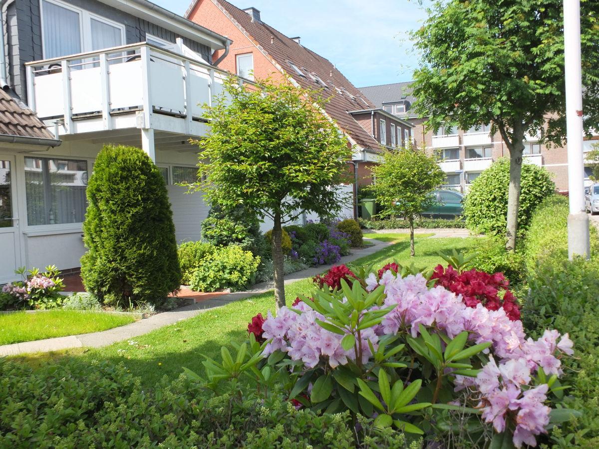 Typ E 3 Raum Ferienwohnung mit Balkon Büsum Firma