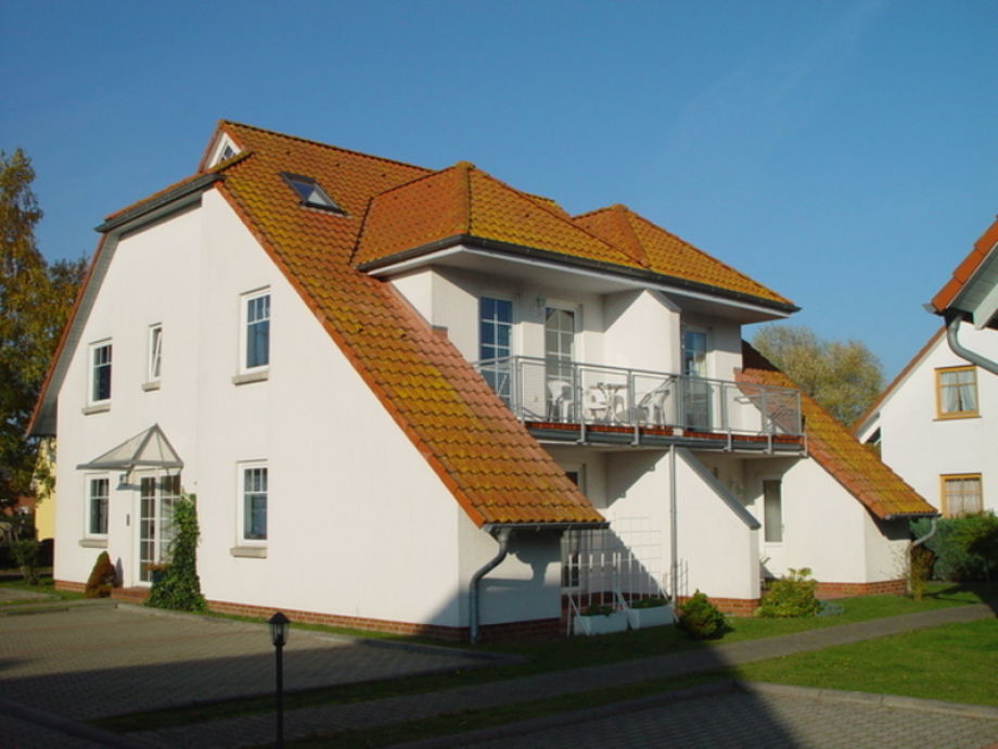Außenaufnahme Ferienwohnung Sommergarten 40 04 Karlshagen