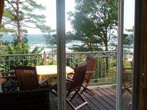 Ferienwohnung Ostseeblick - 1. Reihe am Strand und Meer