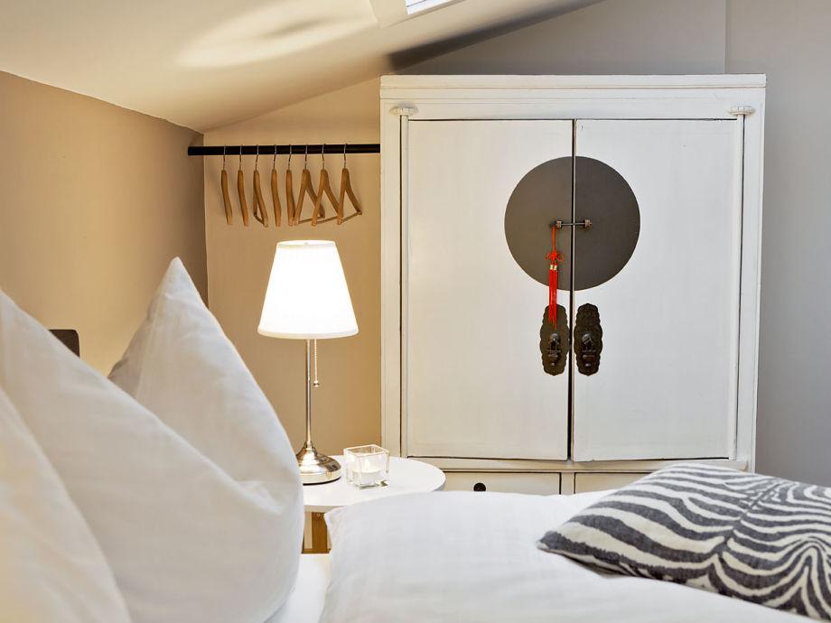 Schlafzimmer im Appartement 5