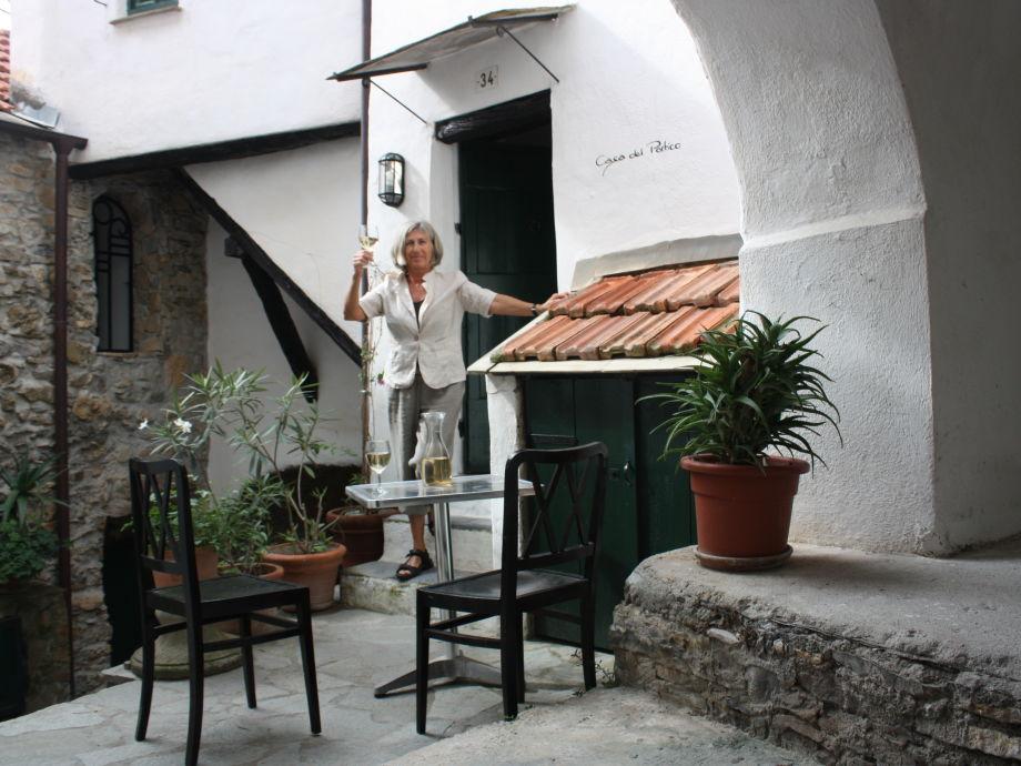 """""""Casa del Portico"""": Eingang"""