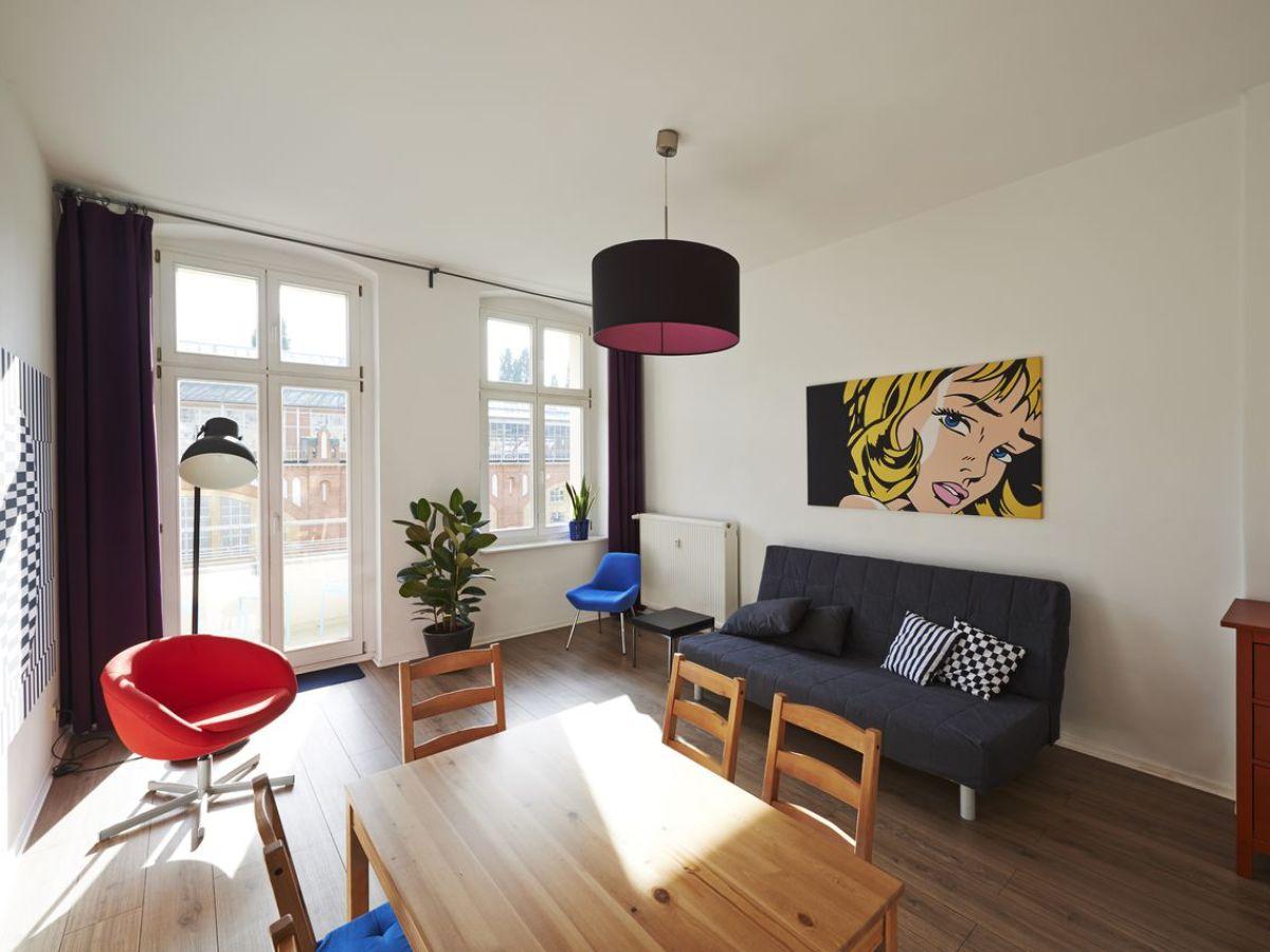 Wohnzimmer Berlin Ferienwohnung Topflat Ii Cityapartment Friedrichshain