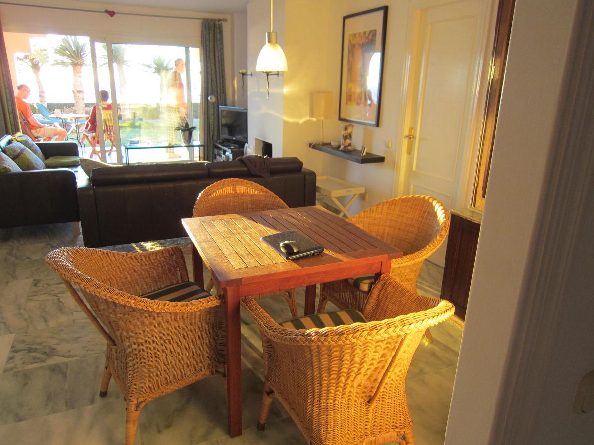 Ferienwohnung ventana al mar spanien andalusien costa for Wohnzimmer mit esstisch