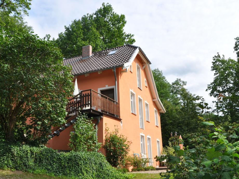 Balkon der Bel Etage 'Schwanentanz'