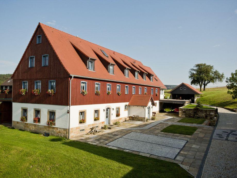 Bauernhaus und Hof