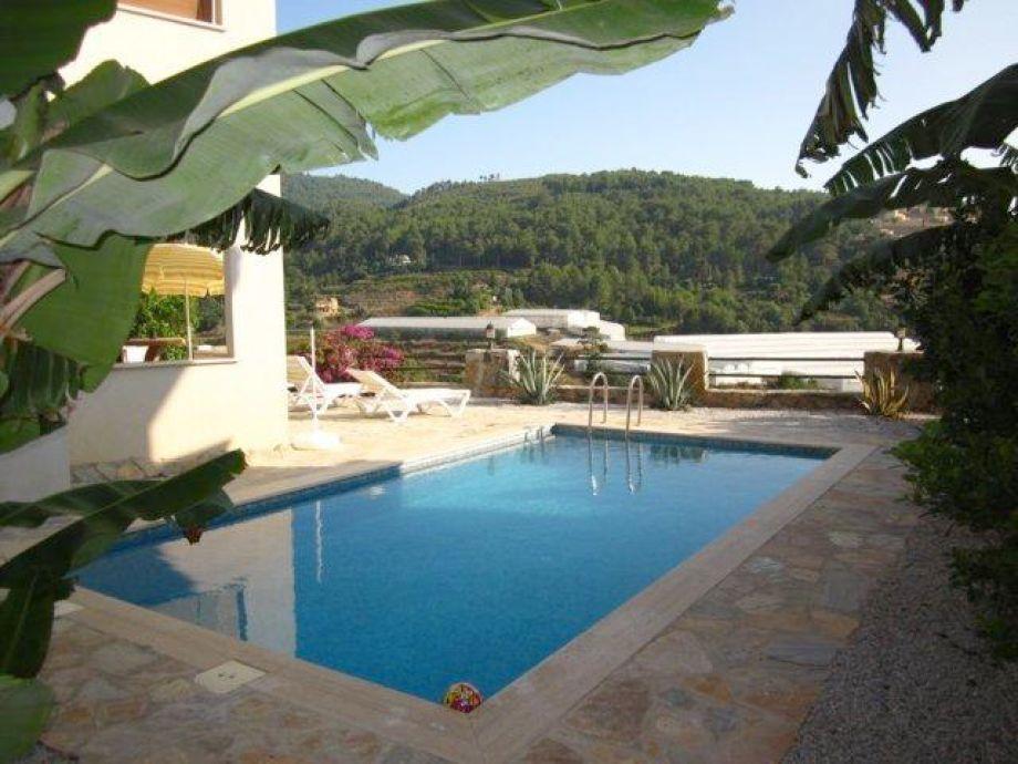Pool der Villa 8x4