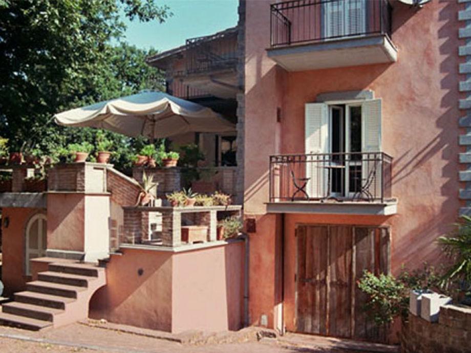 Villa-Verde-Rom von Süden