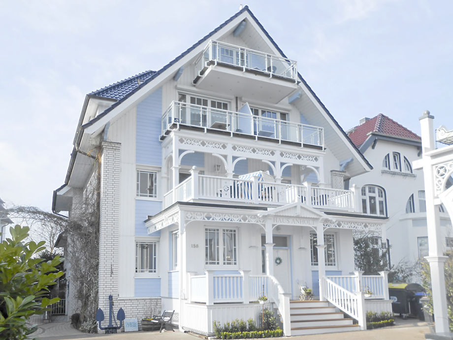 Haus Anholt in Timmendorfer Strand. Außenansicht.