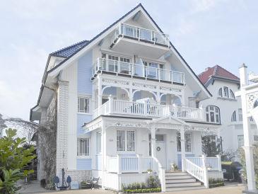 Ferienwohnung im Haus Anholt mit Teil- Meerblick