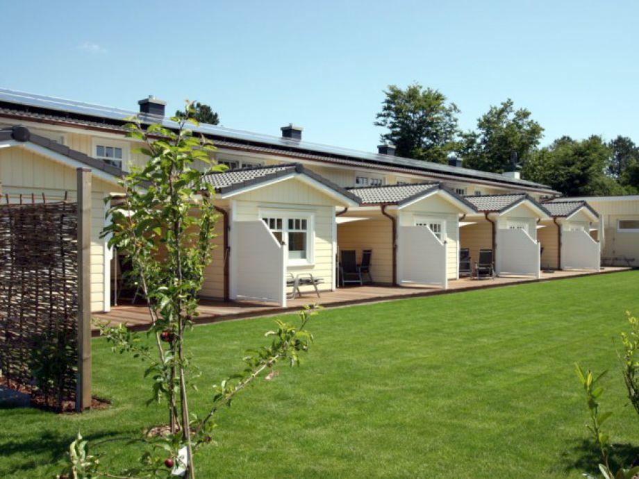 Neu erbaute Ferienanlage mit Terrassen