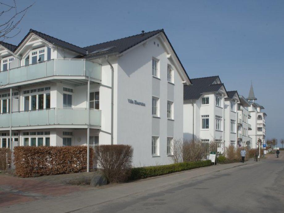 Villa Meernixe und Meer am Ende der Straße!
