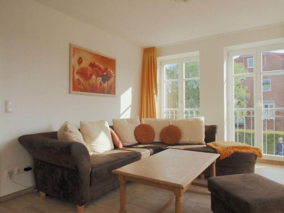 Ausstattung in der Villa Smidt Fewo 04