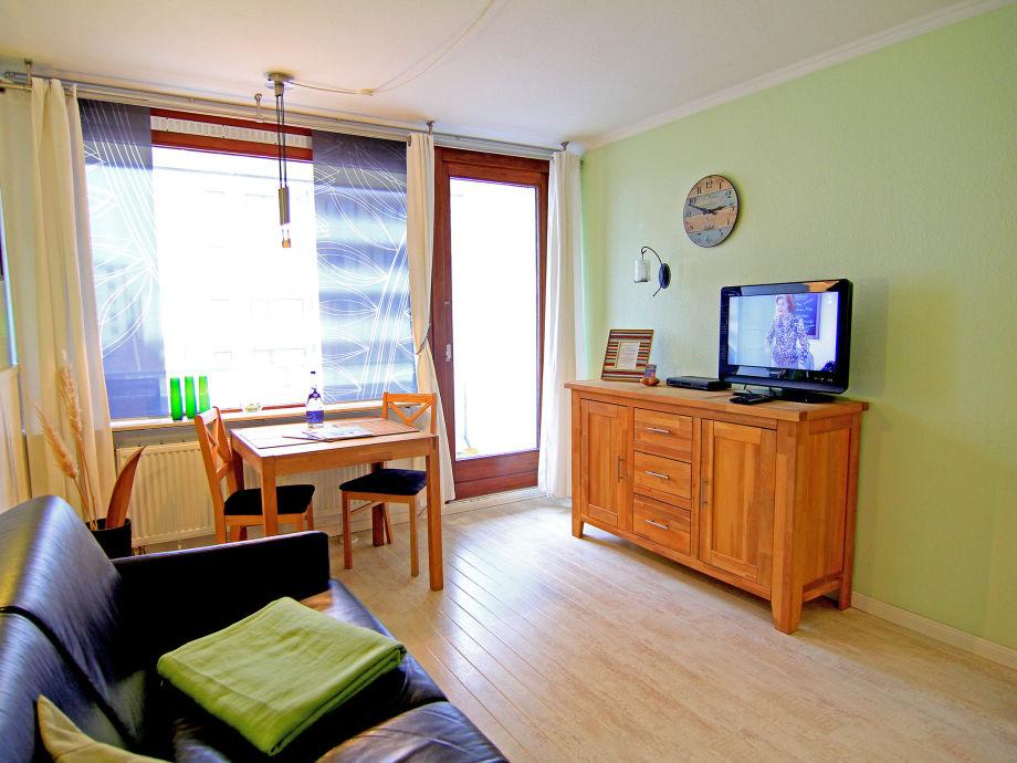 Das 1-Zimmer Appartment mit Schlafsofa