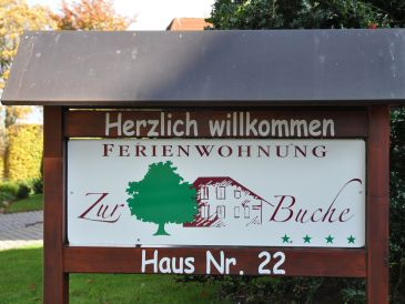 Holiday apartment Zur Buche