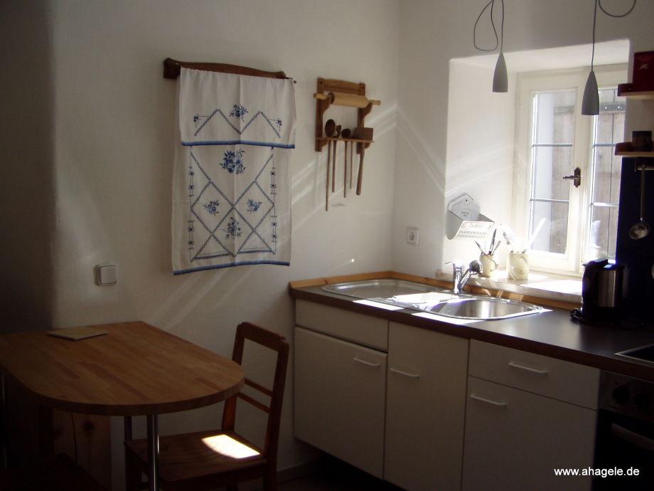 Hängele Küche ferienhaus zum kirchenschuster mittelfranken altmühltal herr