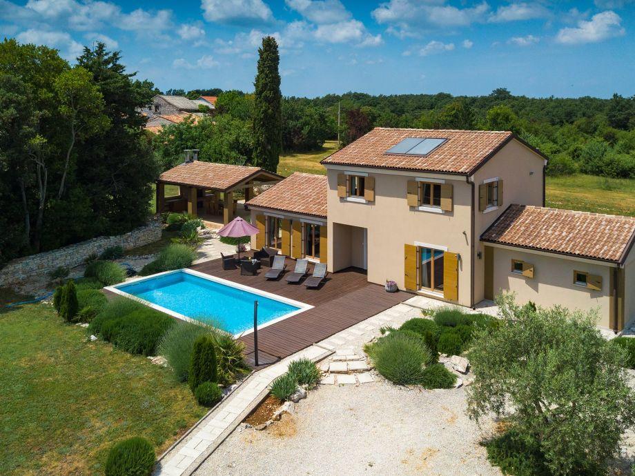 Außenaufnahme Villa Bonasini
